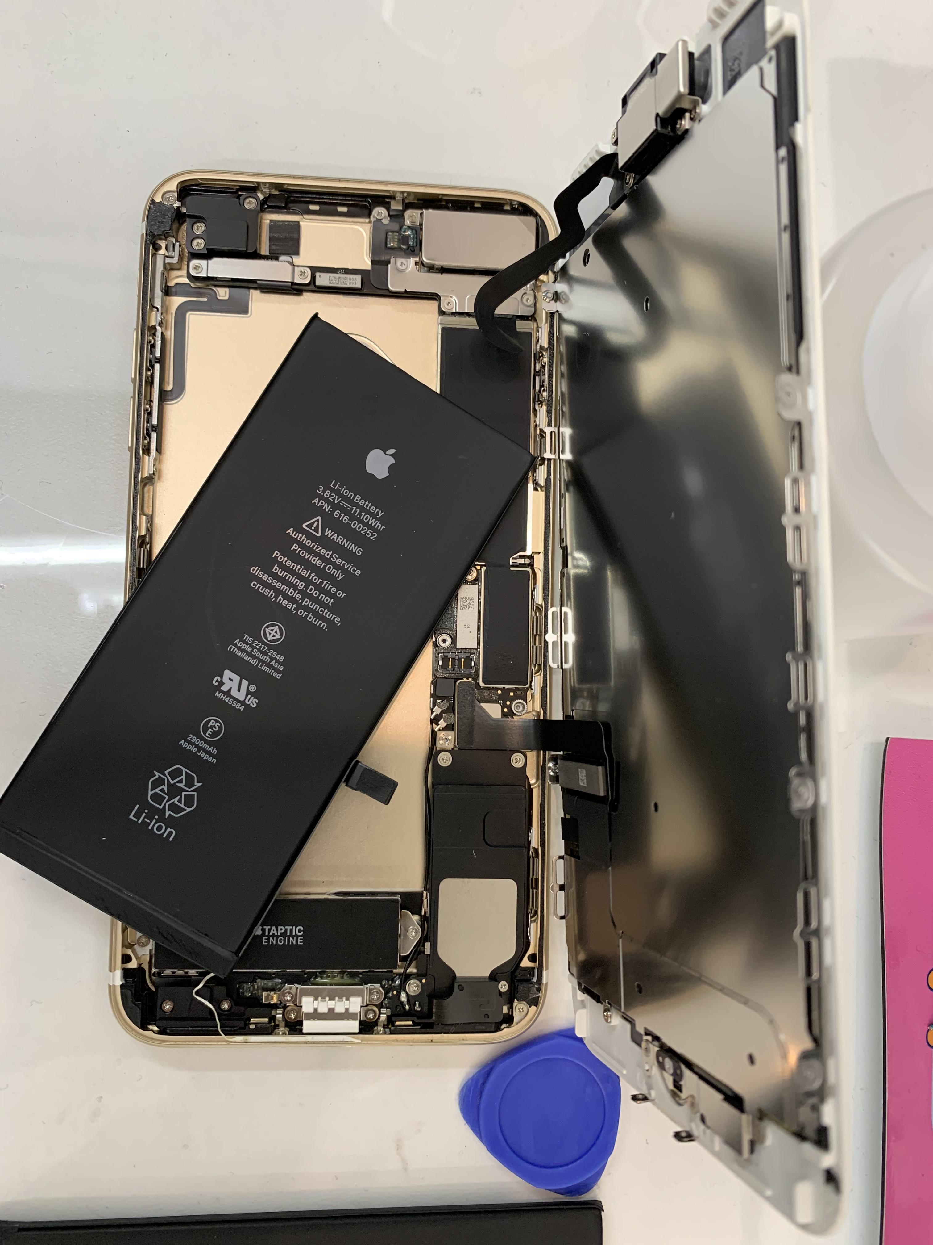 【四街道市もねの里】iPhone7Plusバッテリー交換のご依頼