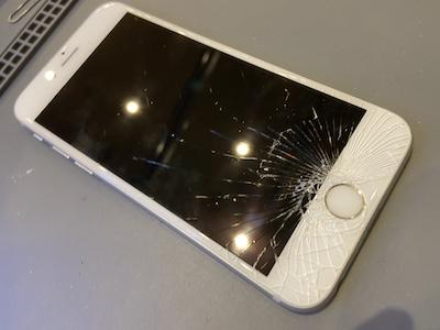 【佐倉市千城】iPhone6sの画面割れ交換修理のご依頼